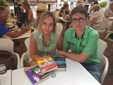 Publishers Maite and Angel